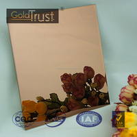 super mirror finish stainless steel sheet 8k ti-gold rose surface