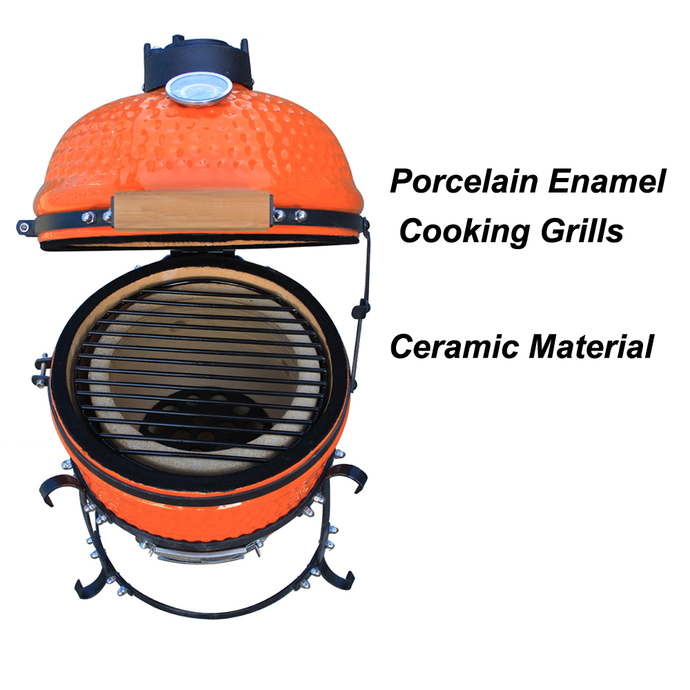 Portable Folding Kamado BBQ Barbcue Smoker Grill As Seen On TV