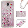 Glitter Star Case For Samsung A3 A5 A7 , Glitter Flowing Liquid heart Case For Samsung Bling case