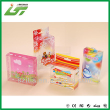 clear square box clear pvc packing