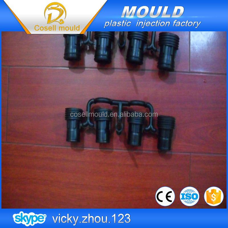 circuit breaker mould/90 degree female pipe fitting plastic injection mould/recycled eco-friendly pipe fitting plastic inject