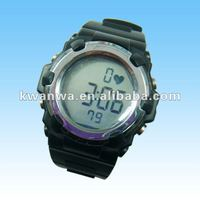 Shenzhen heart rate watch with chest belt, alarm watch with timer