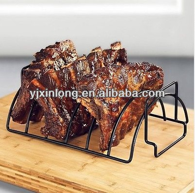 New Non-stick Reversible Roasting Rib Rack