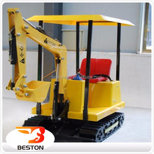 kid mini excavator Electric mini toy excavator kids ride on toy excavator