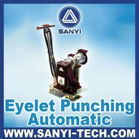 Auto Eyelets Punch Machine For Advertisement