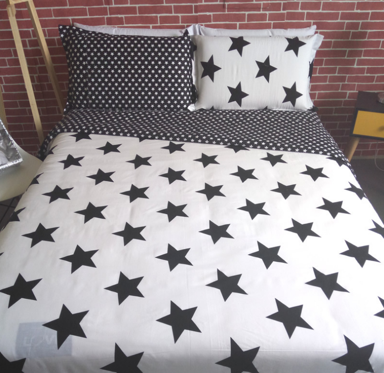 lepanxi brand yiwu factory new product home textile printed wholesale bed sheets 100% cotton bedding set