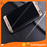 Good quality anti-scratch anti- fingerprint full cover raw materials cell phone for Samsung glass screen protector