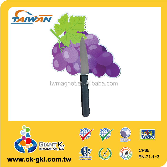 Factory price magnificent grape magnetic kitchen knife holder