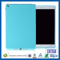 C&T High quality True color blue tpu shell case for apple ipad mini 4 7.9-inch tablet