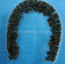 High Quality Plastic Fiber Optic Artificial Christmas Garland