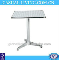 Outdoor Garden Aluminum Folding Adjustable Bar Table