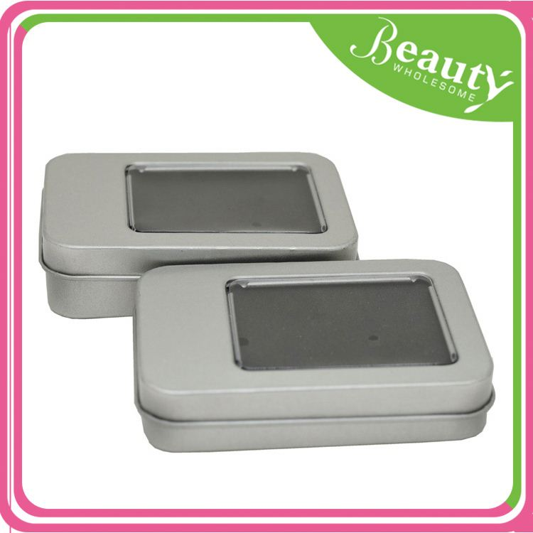 Square cosmetic tins oem ,h0tkN rectangular free gift tin box for sale