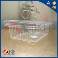 Transparent Square food PP packing tray
