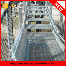 heavy-duty factory supply interior steel stairs tread