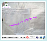 China Supplier Spout Top Flat Bottom Polypropylene 2 Ton Jumbo Bag Of Cement Flexible Container Bag With UV Resistant