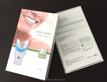 Apple flavor Dental Whitening Kit With Belgium Gel Zero Sensitive Teeth Bleaching