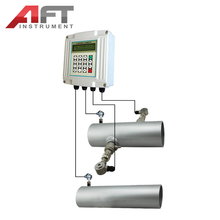 clamping insertion type wallmounted ultrasonic flowmeter