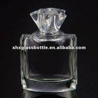 100ml custom made perfume glass spray empty bottle for Dubai