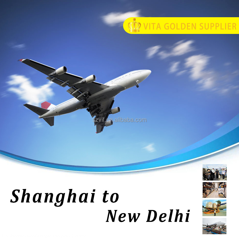 Air cargo air freight company shipping from Shanghai to New Delhi (DEL ), India
