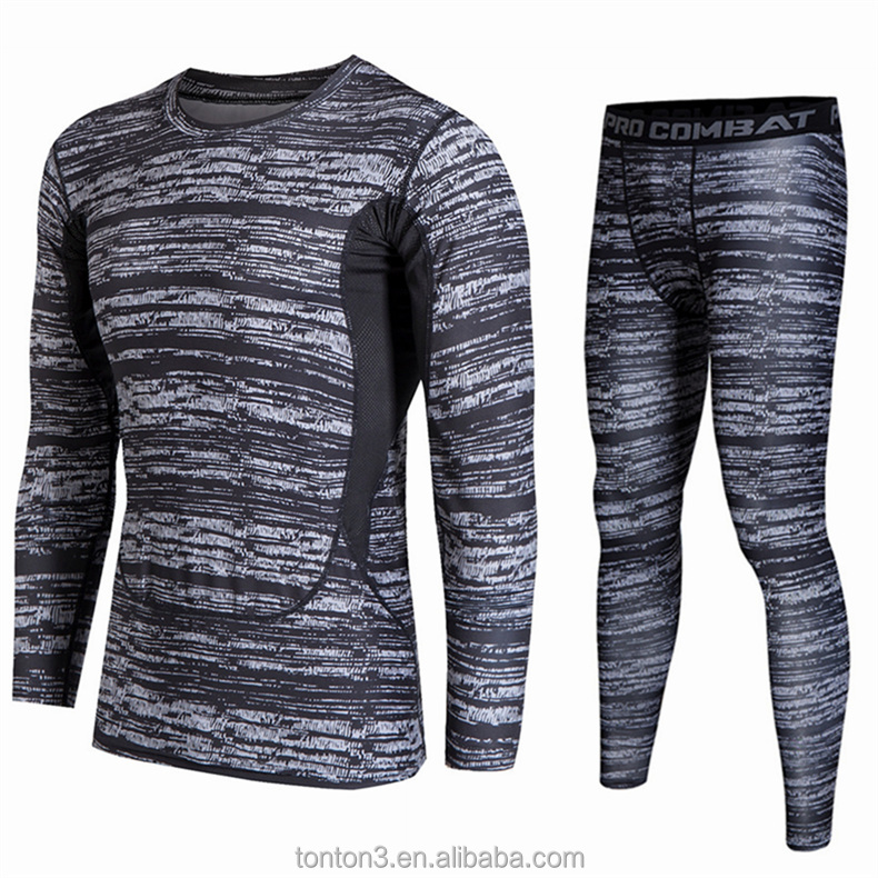 Custom Fitness Skin Mens Clothing Shirt sports compression wear
