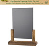 Wooden Menu Holder With Chalkboard Insert