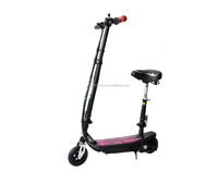 100000pcs a year cheap kids e-scooter 120w with seat