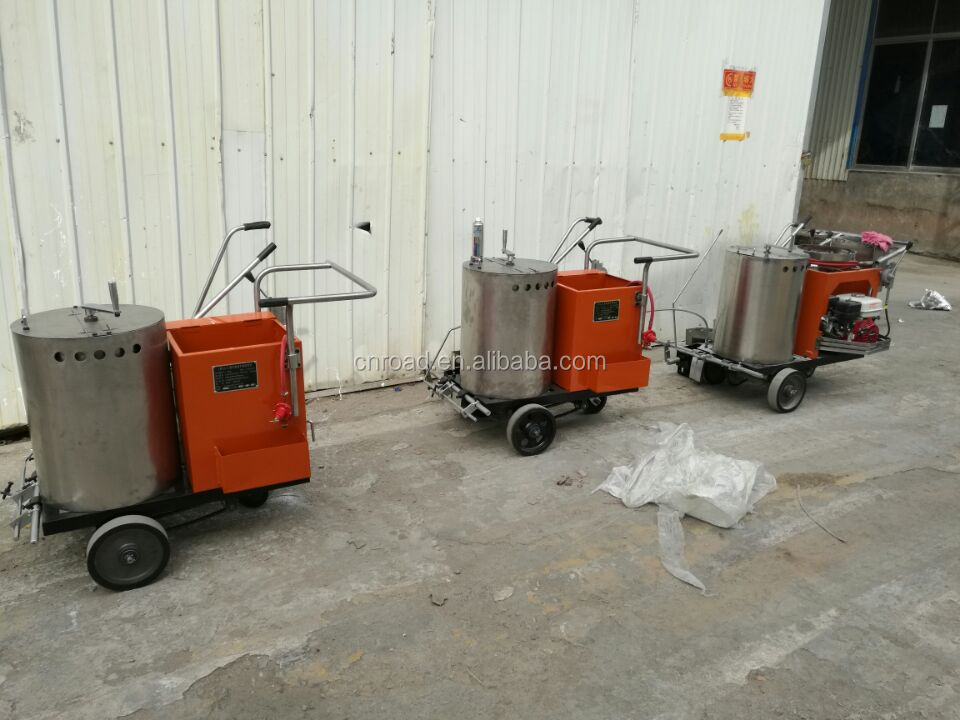 thermoplastic road line painting machine for highway marking