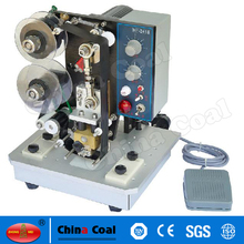 Chinese supplier Electric Continous Date manual batch coding machine