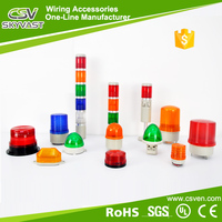 Rotary led emergency warning light