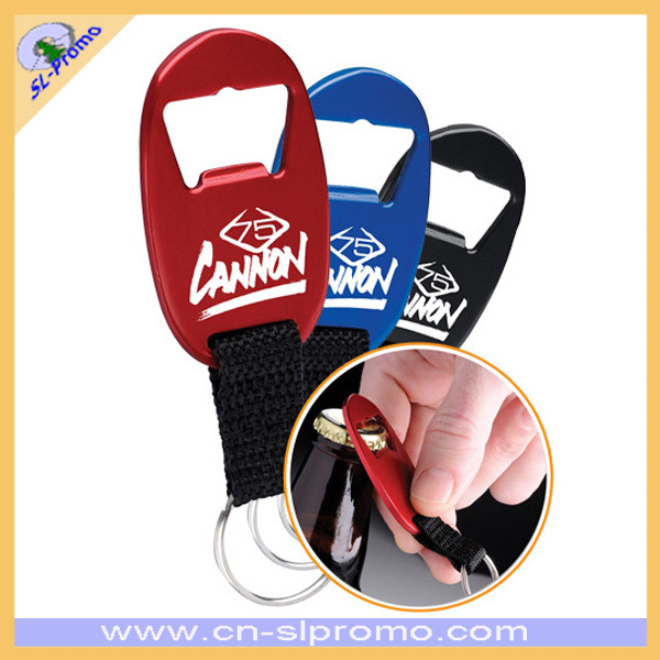 Aluminum Bottle Openers With Key Ring For Advertising