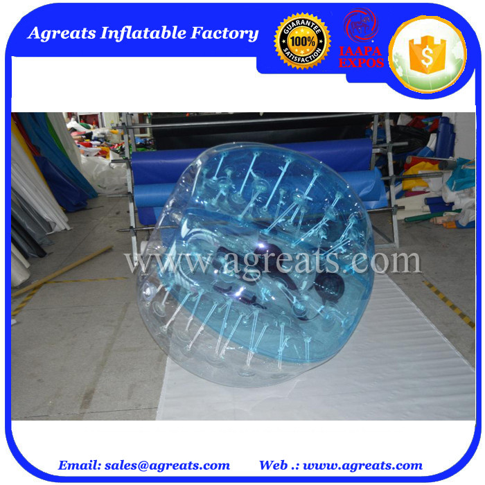 Hot sale bubble football balls inflatable body bumper ball with high quality GB7051