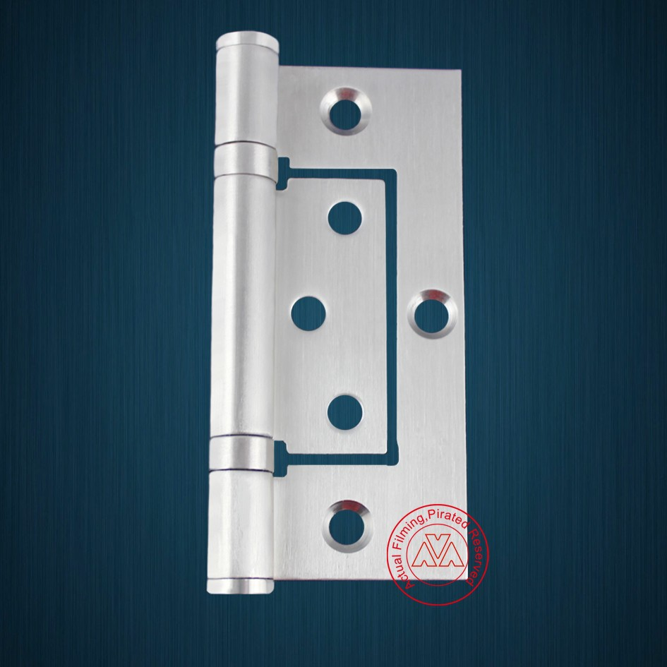4 inches off-axis Stainless steel Butterfly door hinge