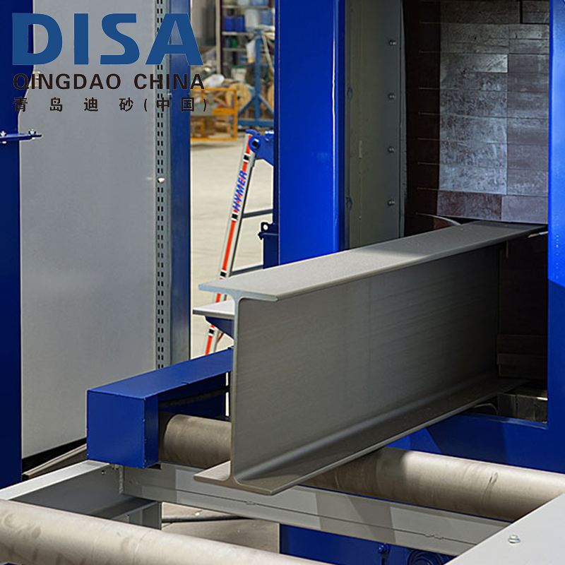 Roller conveyor or trolley shot blasting machine/shot blasters