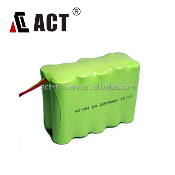 12V nimh rechargeable battery pack 2200mAh for handheld vacuum cleaners