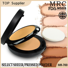 MRC new products sheer silky whitening face makeup pressed powder