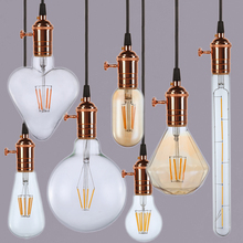 VENUSOP 2W 4W ETL E26 LED Globe Filament light, Warm White 2700K Dimmable led filament bulb
