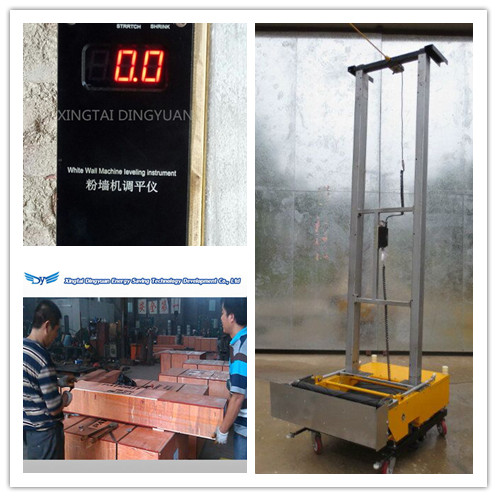 Construction Machinery Automatic Wall Plastering Cement Mortar Redering Robot Tool Machine