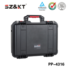 Heavy duty plastic ip67 watertight protective large cases