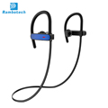 Earphones with ear hook design sweatproof wireless sport earphones RU10