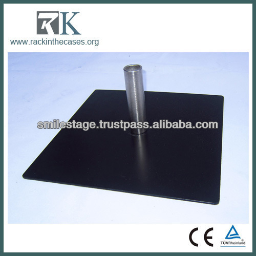 2013 RK hot sale pipe and drape - base plate promotion