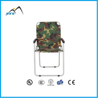 High quality outdoor folding stool steel camping chair