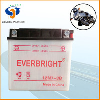 Super quality 12v 7ah dry charged electric tricycle battery