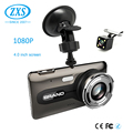 Factory Price Full Hd 1080P Dual Car Dvr Gps,Dual Car Black Box Dash Cam Gps