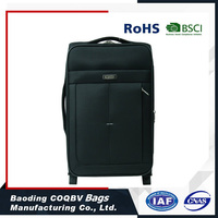 COQBV Black Luggage Bag