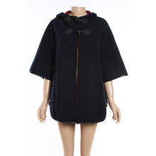 Navy Pullover New Winter Lady Coat