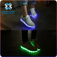 christmas Wholesale china flat woman shoes Fashion cool led shoes light up shoes for unisex