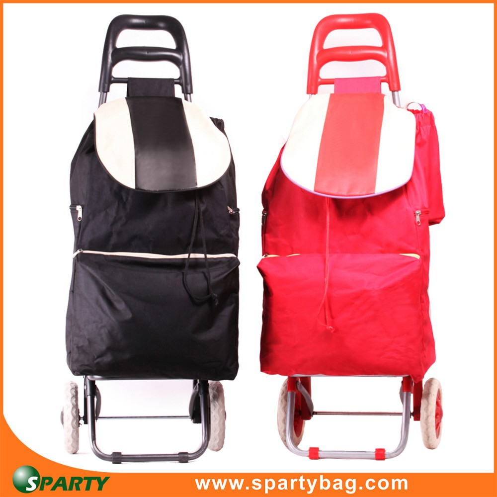 China manufacturer design popular shopping trolly bag for walmart