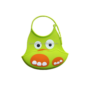 New Arrive Silicone Fancy Baby Bibs 100% Silicone Designs Non-toxic Silicone Adult Baby Bib