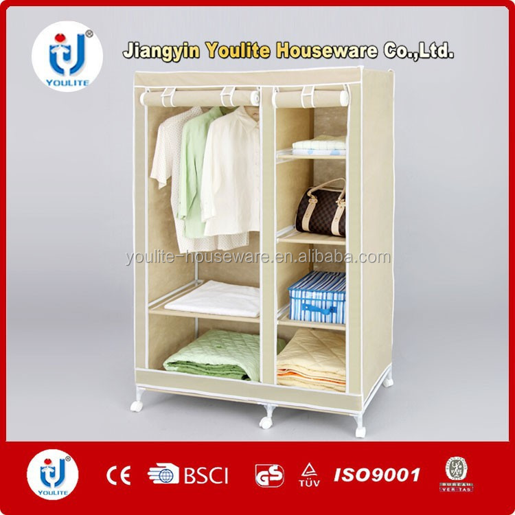 interesting upright double color wardrobe design furniture bedroom