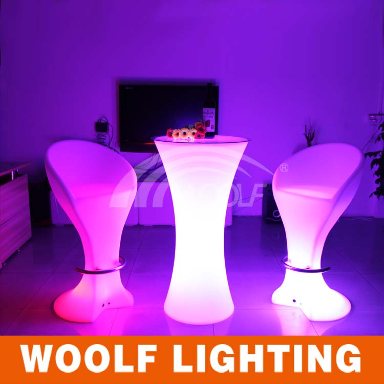 Glow Furniture party event color changing led glow furniture - buy led glow